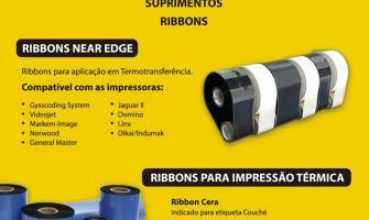 Ribbon para impressora zebra